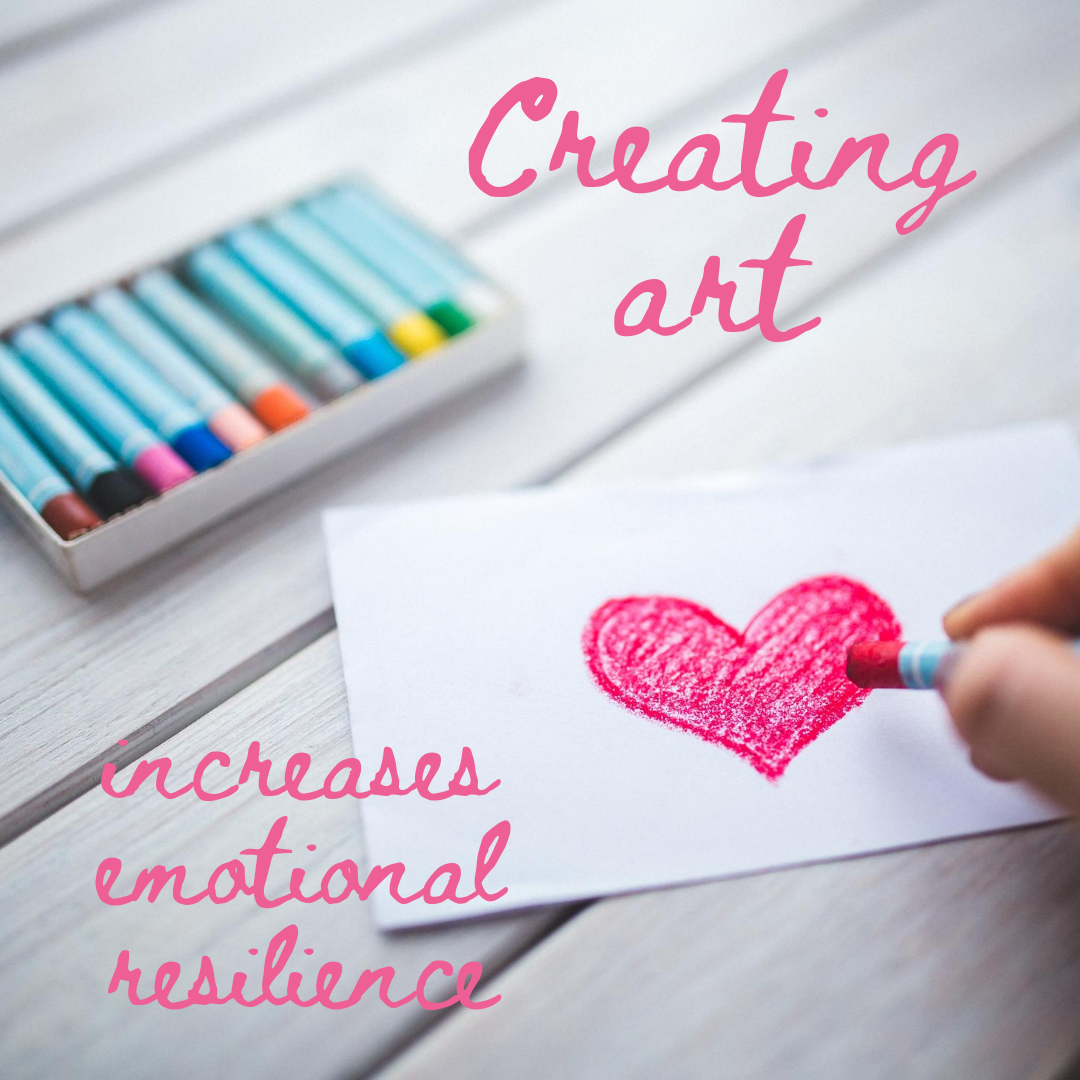 Creating Art Increases Emotional Resilience